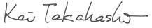 Signo: Takahashi, MD., PhD.